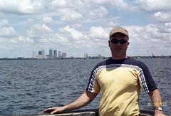 Jerry on Ballast Pointe Pier, Tampa FL.