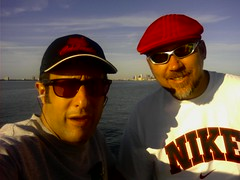 Psycho Mike & I @ Ballast Point Pier, Jules Verne Park, Tampa, FL