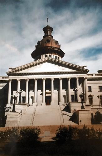 Columbis  - South Carolina - State House - Capitol - Facade - Historic