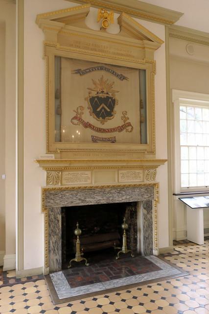 Photo:Philadelphia - Old City: Carpenters' Hall - George Washington Centennial Banner By wallyg