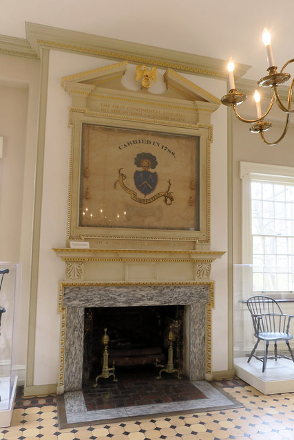 Photo:Philadelphia - Old City: Carpenters' Hall - Constitution Centennial Banner By wallyg