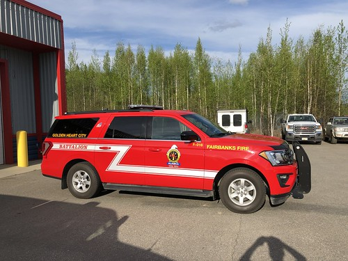 Fairbanks Fire Dept. Battalion Chief