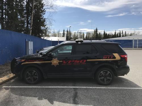 Alaska Village Public Safety Officer cruiser