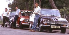 Three Renaults 1975