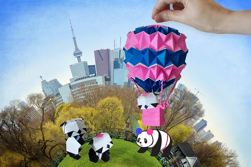 Delivering Good Flickr Panda in Origami Panda-Land