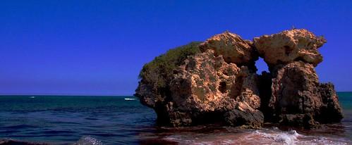 West Australia, The Two Rocks Beach in Yanchep