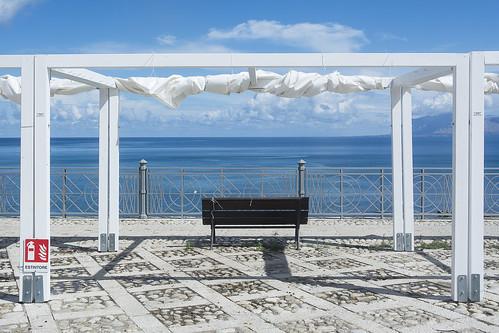 Bench in Castellammare del Golfo
