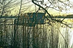 Ponton et cabane pour la pêche au carrelet. - Photo of Saint-Vincent-de-Paul