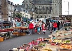 Market day at Flers - Photo of Saires-la-Verrerie