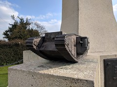 Tank Corps Memorial - Photo of Le Sars