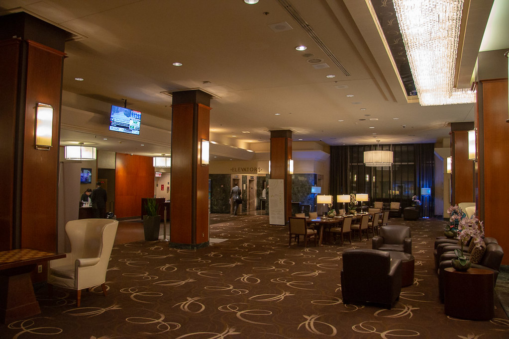 Lobby at Toronto Airport Sheraton