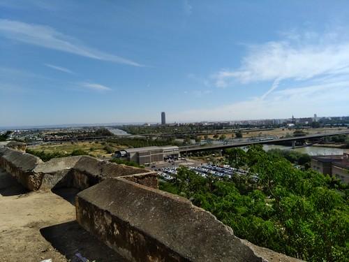 Escarpe del Aljarafe: mirador de San Juán del Aznalfarache (Sevilla)