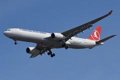 Turkish Airlines (THY) - Airbus A330-300 - TC-JNM - Samsun - John F. Kennedy International Airport (JFK) - February 19, 2019 979 RT CRP