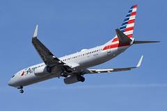 American Airlines (AA) - Boeing 737-800 - N301PA - John F. Kennedy International Airport (JFK) - February 19, 2019 961 RT CRP