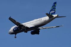 jetBlue Airways - Airbus A320-232 - N639JB - A Little Blue Will Do - John F. Kennedy International Airport (JFK) - February 19, 2019 915 RT CRP