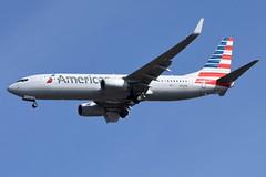 American Airlines (AA) - Boeing 737-800 - N301PA - John F. Kennedy International Airport (JFK) - February 19, 2019 953 RT CRP