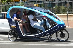 Fort-De-France Fancy Cyclo Taxi