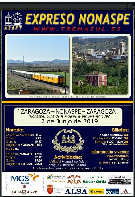 La Azaft viaja a Nonaspe.