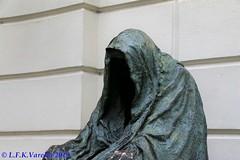 Praga - estátua do Commendatore de Don Giovanni