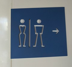 French Restroom Sign