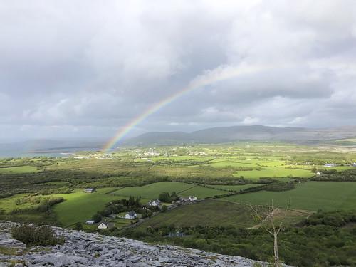 Rainbow Over Ballyvaughn