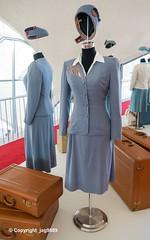 1944-1955 TWA Air Hostess Uniforms by Howard Greer, TWA Hotel at JFK Airport, New York City