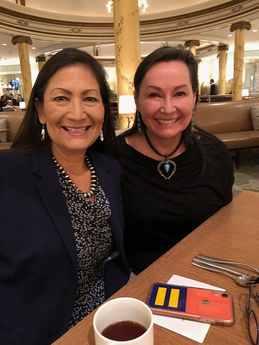 Deb Haaland and me