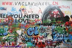 Praga - muro de John Lennon