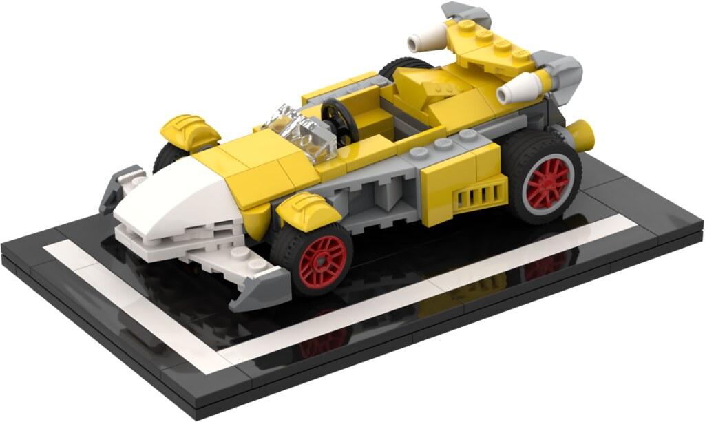 Tails's Racecar [Team Sonic Racing] - Download Photo