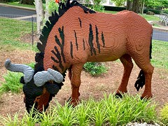 Wildebeest LEGO Sculpture