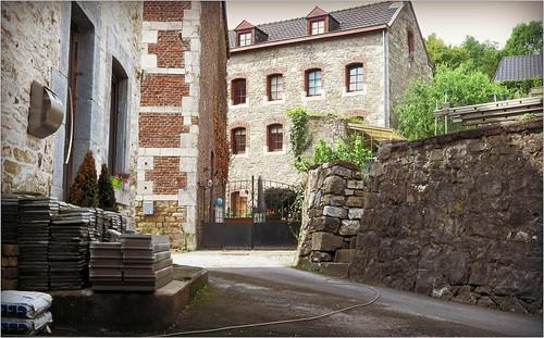 Maisons à Nessonvaux, Olne, Province de Liège, Belgium