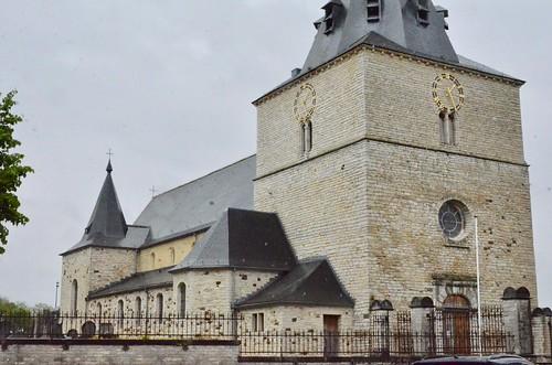 Tourinnes-la-Grosse (Brabant wallon), basilique St-Martin