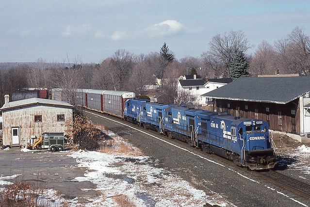Conrail SE-BO West Brookfield,MA