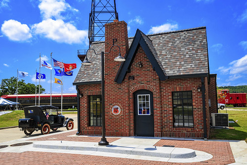 Phillips 66 cottage style station at Route 66 Village in tulsa