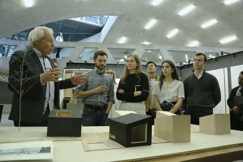 Review for the option studio Site Specific, Small-Scale Interventions: Design-to-Build Studio, spring 2019, Milstein Hall dome.