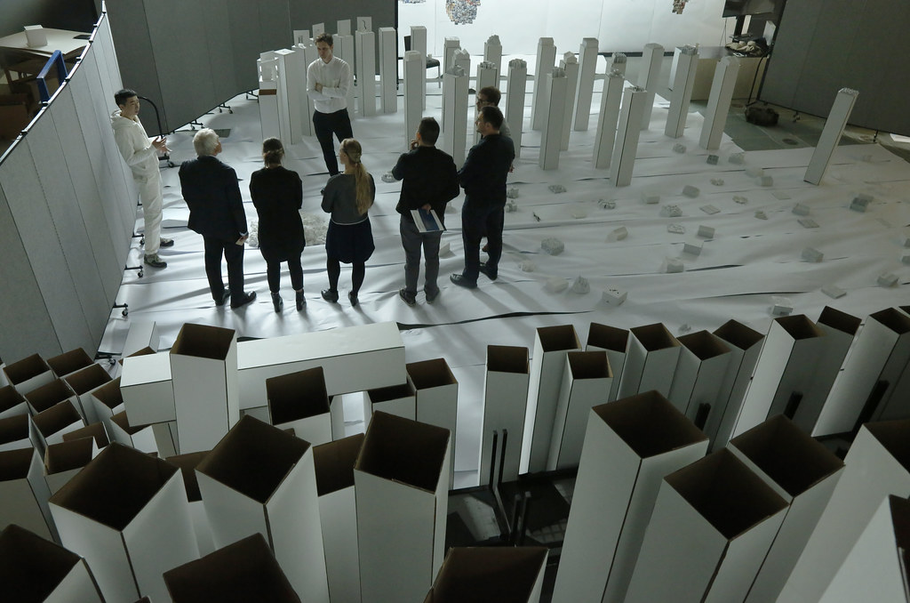 Duyi Han's (B.Arch. '19) thesis review.