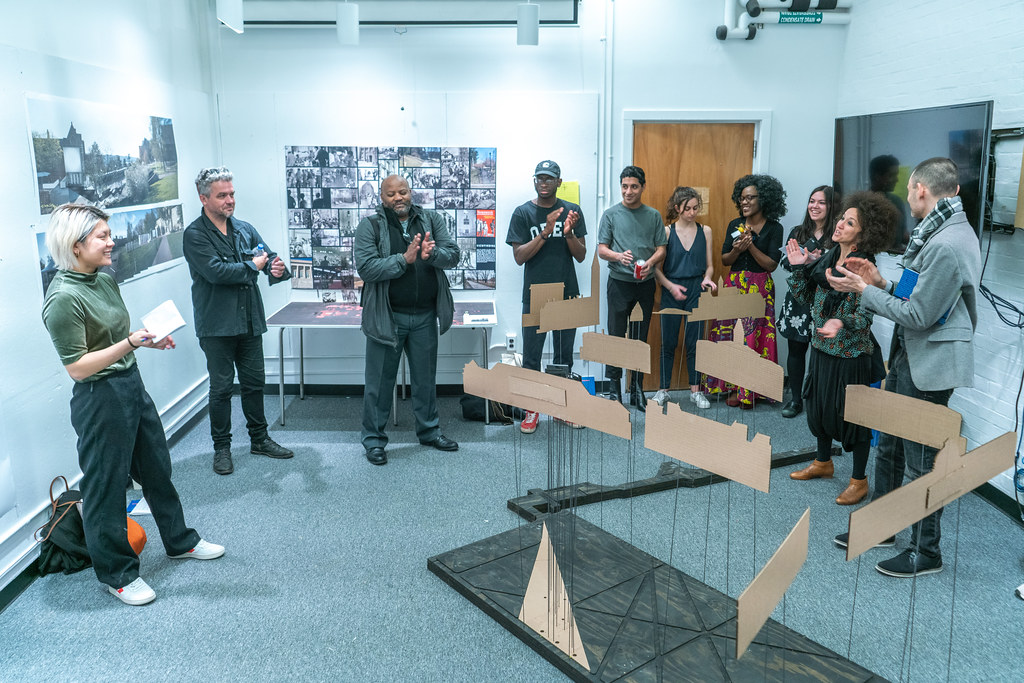 Rachel Biggane's (B.Arch. '19) thesis review. Photo by Andy Chen (B.Arch. '20).