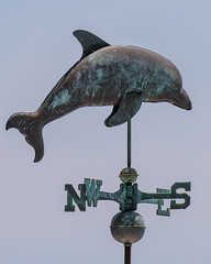 Jumping Dolphin Weathervane