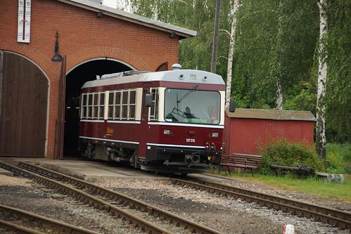 Triebwagen 137 515 in Mügeln