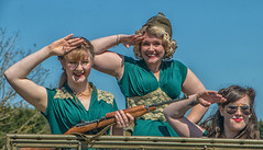 East Fortune 1940s event