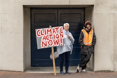 Minerals Forum Protest, Town Hall, Dunedin, New Zealand, 10.22 AM Tues. 28 May 2019