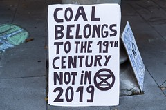 Minerals Forum Protest, Town Hall, Dunedin, New Zealand, 8.08 AM Tues. 28 May 2019
