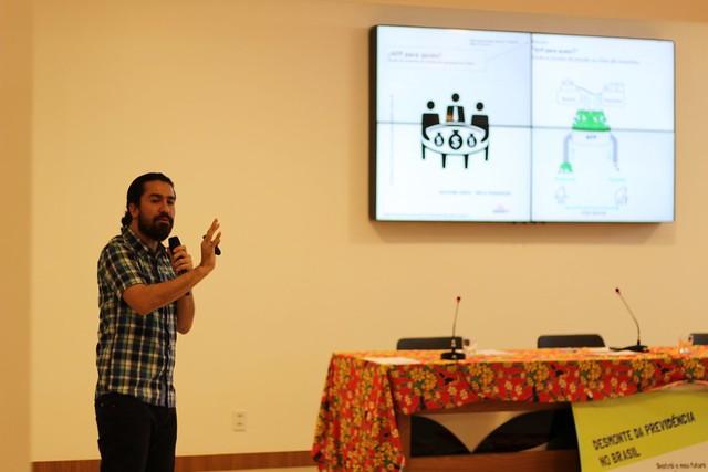 42bd4305d Recaredo Gálvez falou sobre o tema durante seminário em Brasília -  Créditos: Jubileu Sul