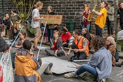 Minerals Forum Protest, Town Hall, Dunedin, New Zealand, 12.25 PM Tues. 28 May 2019
