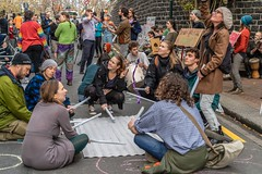 Minerals Forum Protest, Town Hall, Dunedin, New Zealand, 12.02 PM Tues. 28 May 2019