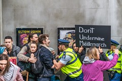 Minerals Forum Protest, Town Hall, Dunedin, New Zealand, 8.30 AM Tues. 28 May 2019
