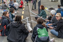 Minerals Forum Protest, Town Hall, Dunedin, New Zealand, 12.14 PM Tues. 28 May 2019