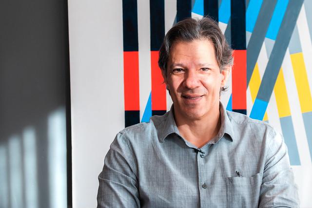 Fernando Haddad falou ao Brasil de Fato na última segunda-feira (27) - Créditos: Pedro Stropasolas