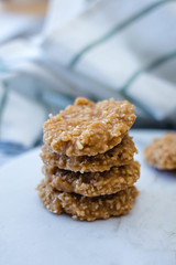 No Bake Coconut Cookies
