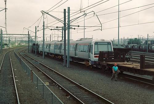 124-8A 1992-01-14 Transperth set at Broadmeadow